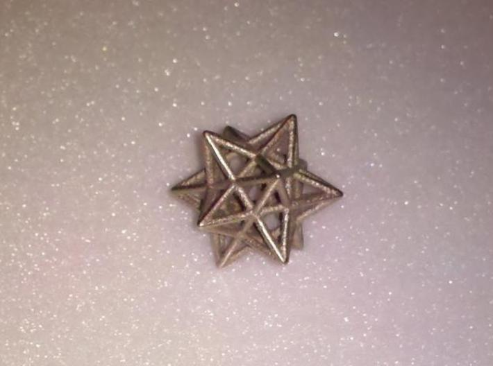 Small stellated dodecahedron 3d printed stainless
