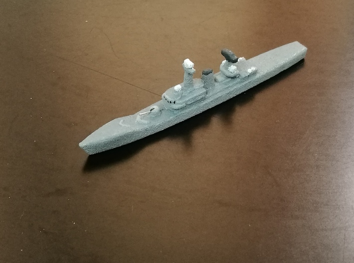 KRI Oswald-Siahaan, 1/1800 3d printed HP Jet Grey SF Sample