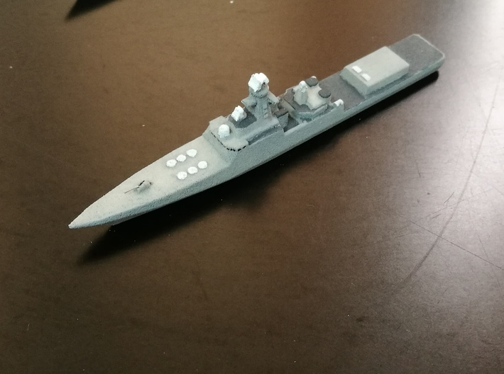 Project 21956 Destroyer, 1/1800 3d printed Painted Sample