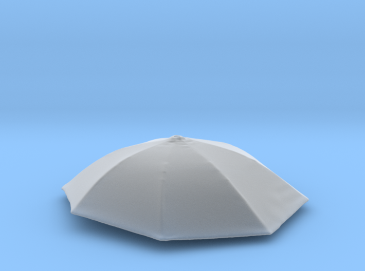 1/20 Umbrella for Auto Racing Diorama 3d printed