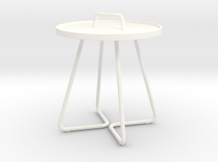 1:12 Table occasional round - sidetable small 3d printed
