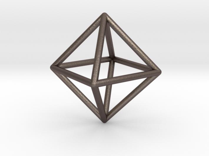 Ethereum Pendant 3d printed