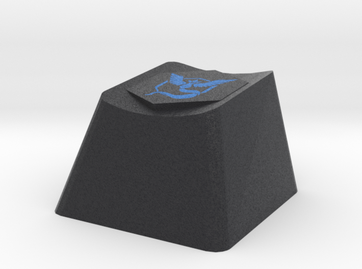 Pokemon Go Team Mystic Cherry MX Keycap 3d printed