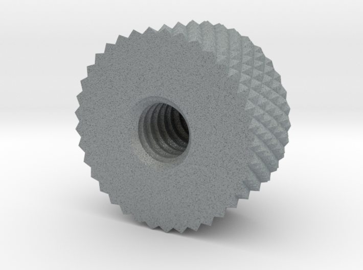 Pilot Chestbox Knurled Point 3d printed