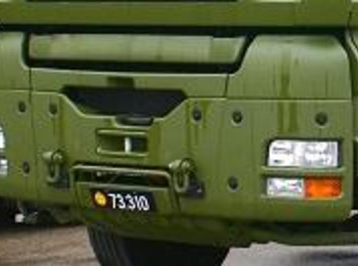 MAN_military bumper 3d printed The front bumper