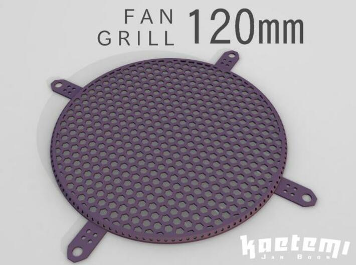 Fan Grill 120mm 3d printed Fan Grill 120mm 3D Render