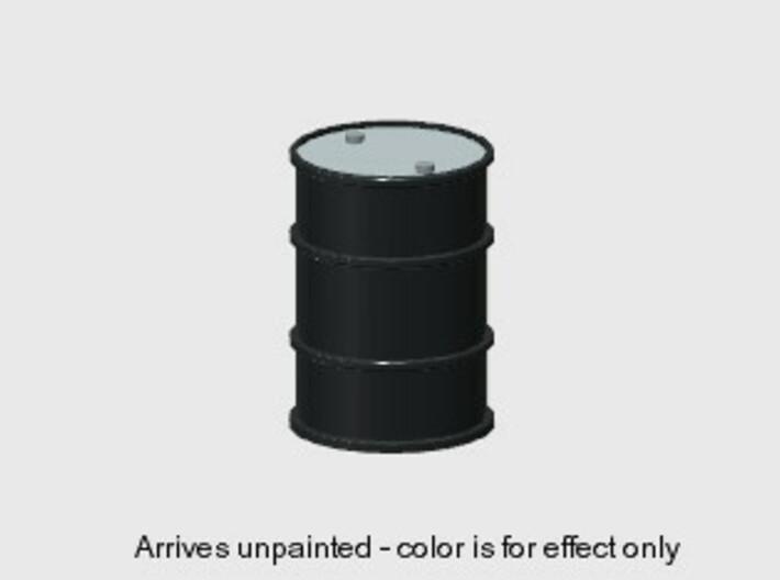 55 Gal Drum (6 ea.) (HO) 3d printed Part # DR-001