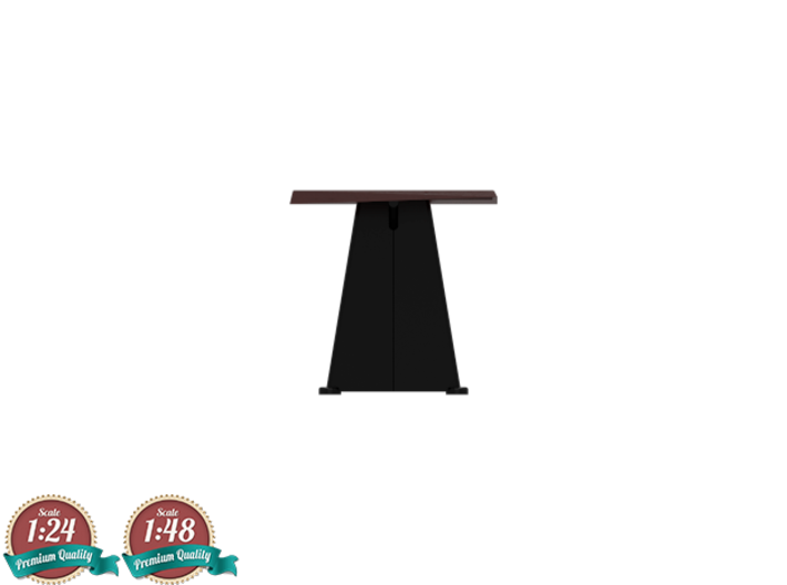 Miniature Trapeze Long Table - Jean Prouve 3d printed Miniature Trapeze Long Table - Jean Prouve
