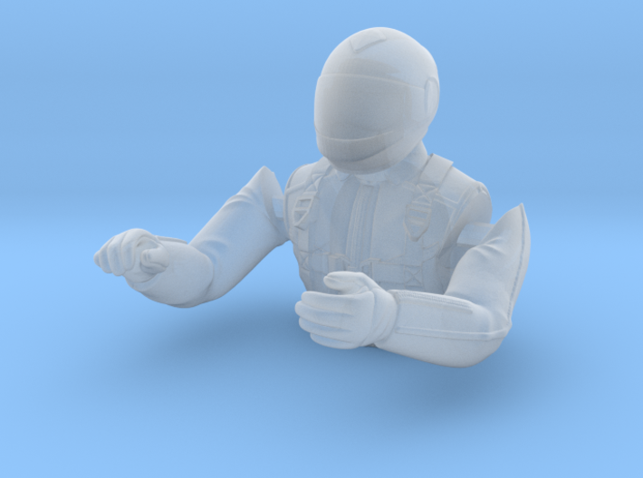 1/25 Race Driver Upper Body 3d printed