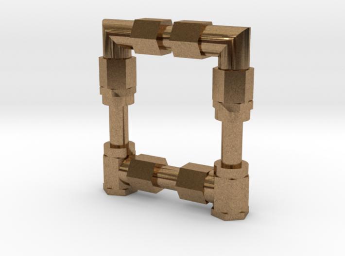 AlpinFlex Tiller Hydraulic Connector Set 3d printed