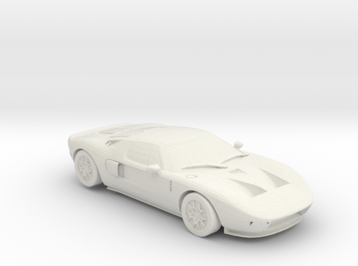 Ford GT Keychain 3d printed