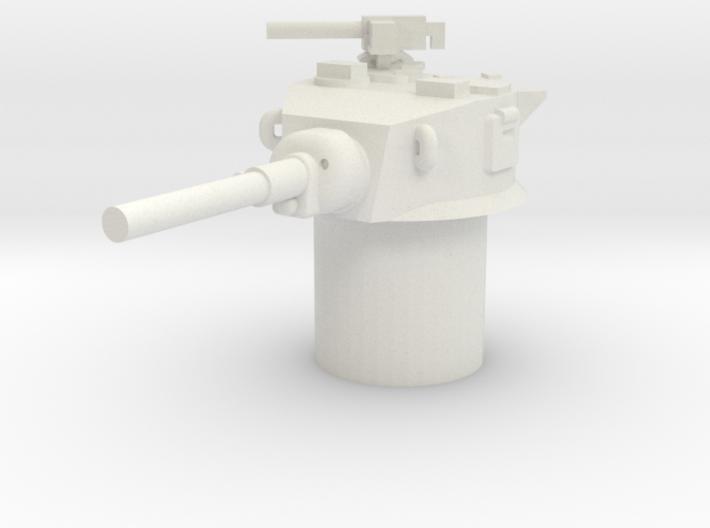 Stuart M5 Turret 15mm / 1/100 3d printed