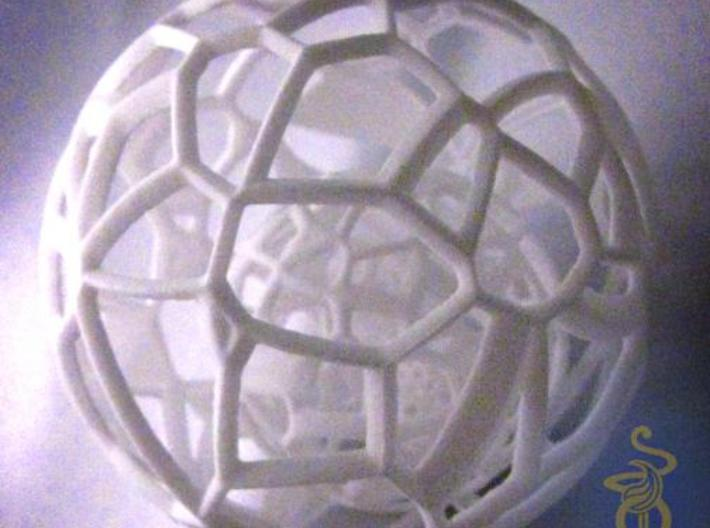 Sphere within a sphere within a sphere 3d printed 9
