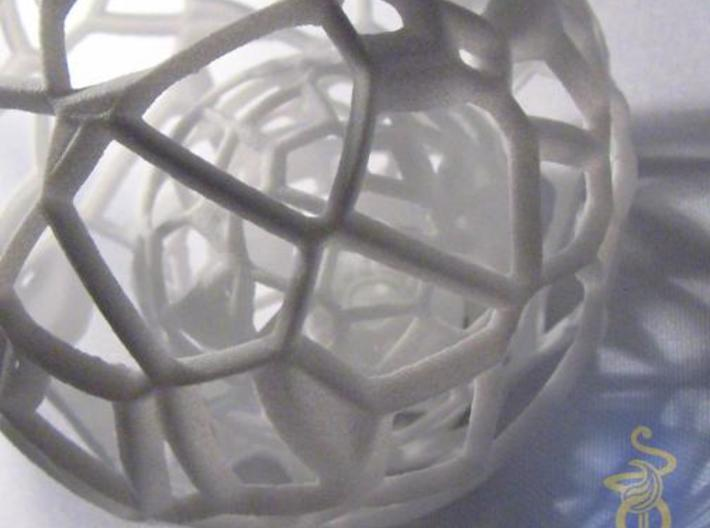 Sphere within a sphere within a sphere 3d printed 15