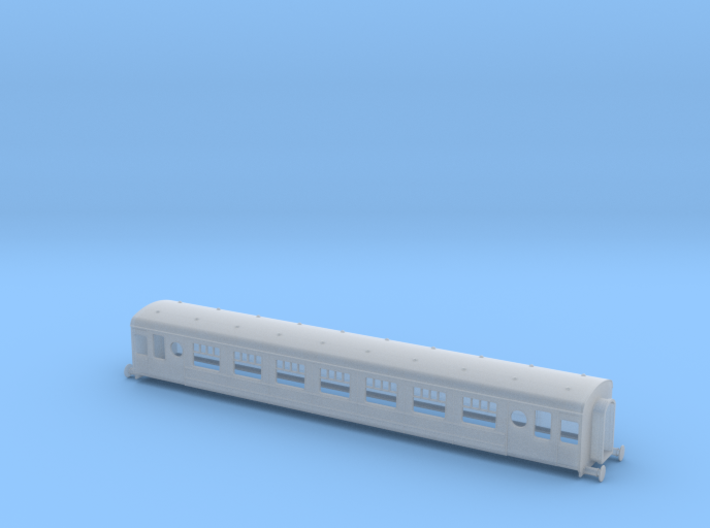N Scale Irish Railways Park Royal Suburban Coach 3d printed