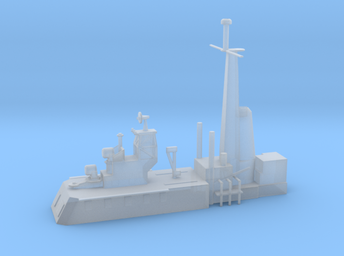1/500 Scale CLG Aft Structure 3d printed