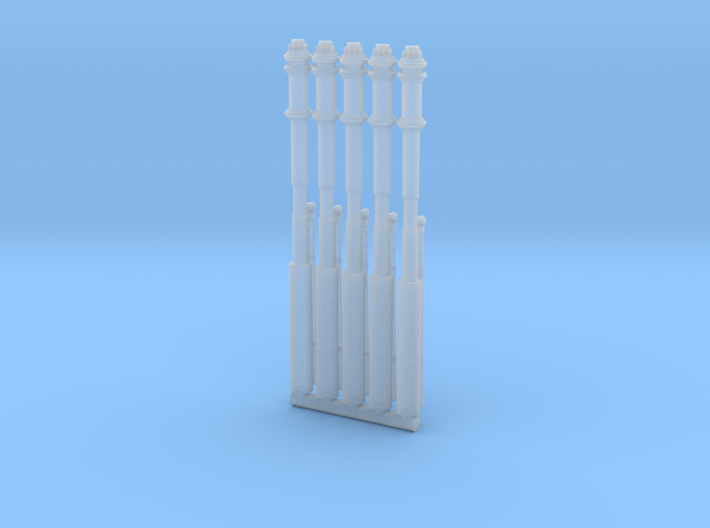 BLADE WING FANTASTIC 1/72 CANNONS 5 SET 3d printed