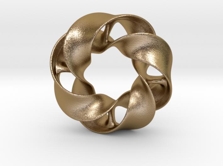 Mobious - pendant 3d printed