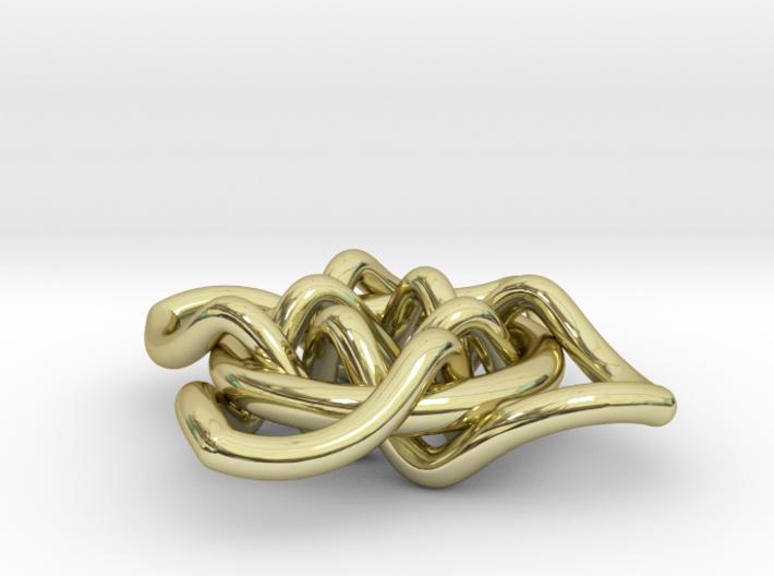 Quaternary Pendant 3d printed