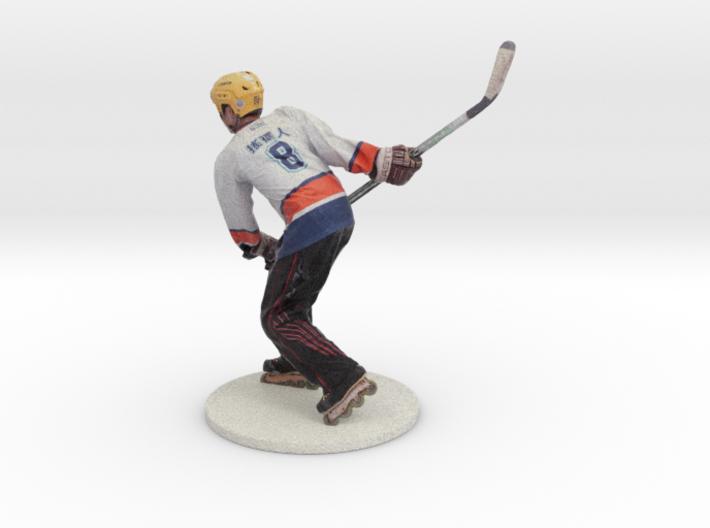 Scanned Hockey player -15CM High 3d printed