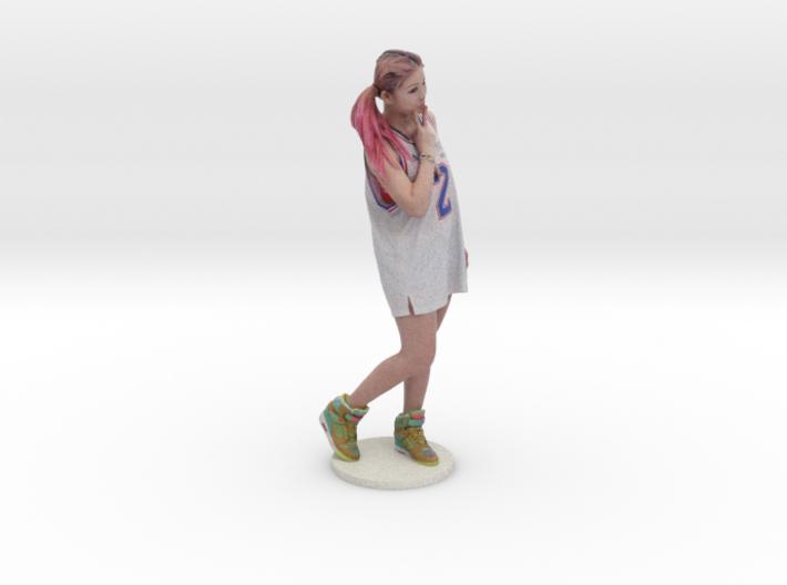 Scanned pretty Girl - 15CM High 3d printed