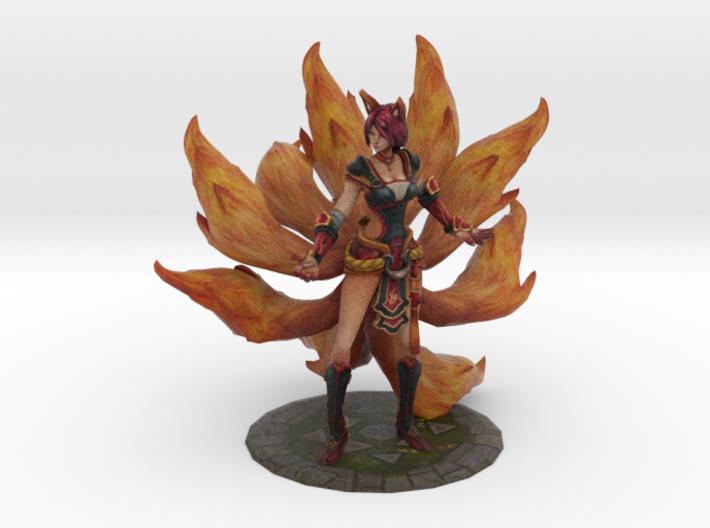 Foxfire Ahri 3d printed