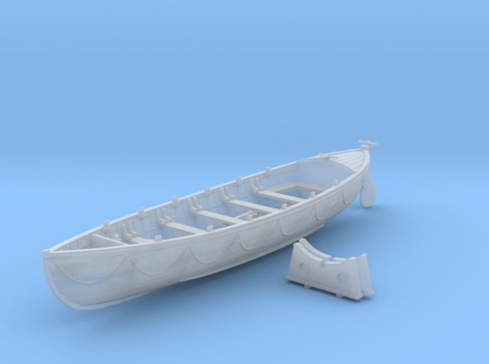 1/72 Royal Navy 27ft Whaler 3d printed 1/72 Royal Navy 27ft Whaler