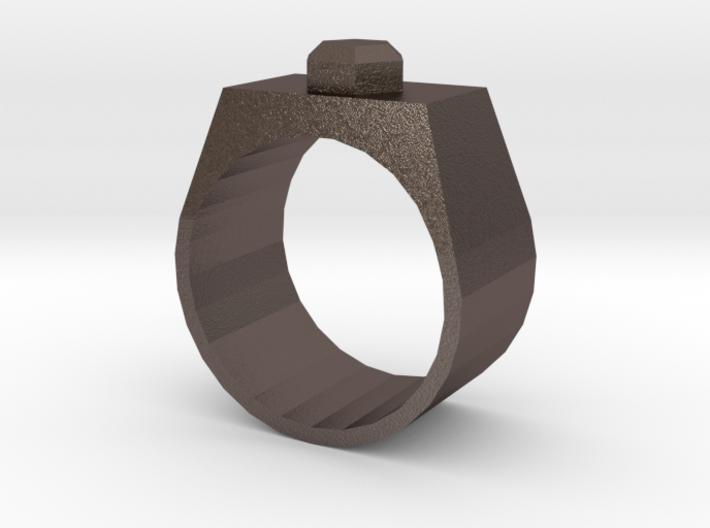 Stud Ring 3d printed
