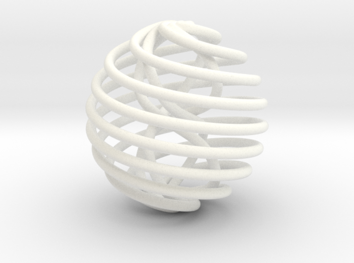 Stress Ball T1 v2 - 5 cm diameter - AT 3d printed
