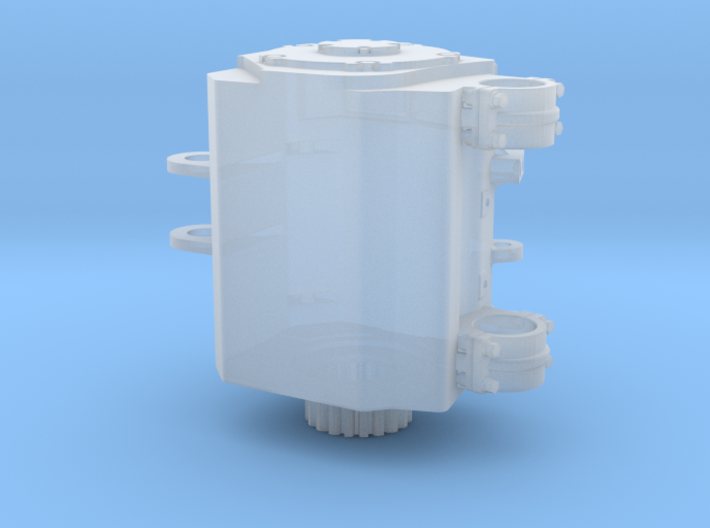 7mm Brush TM64-68 1A Traction Motor 3d printed