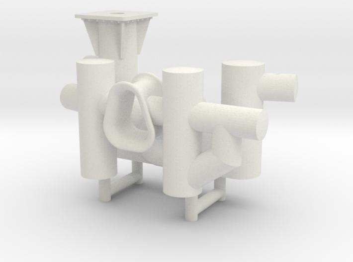 ASD 2810 MKI towing bits 3d printed