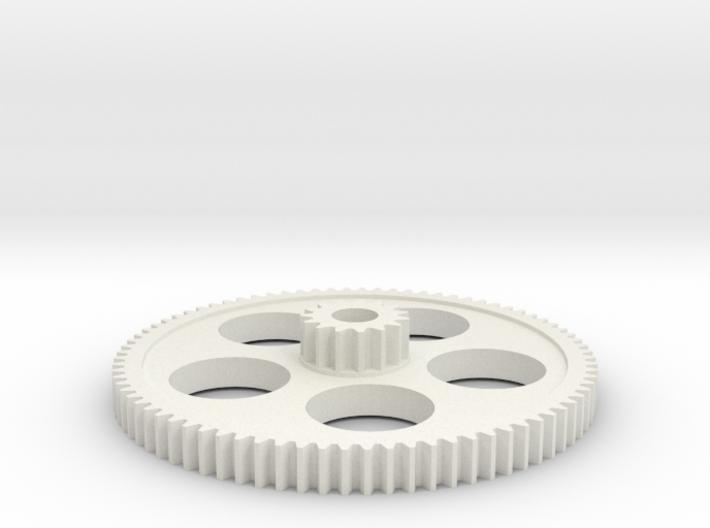 15/80T mini lathe change gear 3d printed
