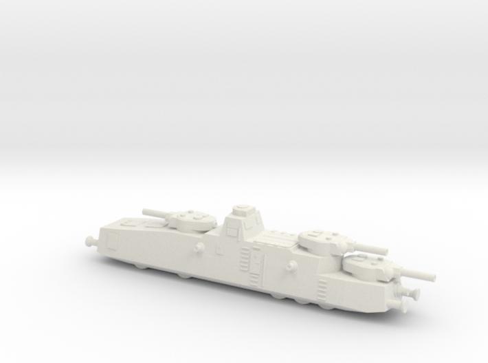 MBV-2 Armored Railcar 3d printed