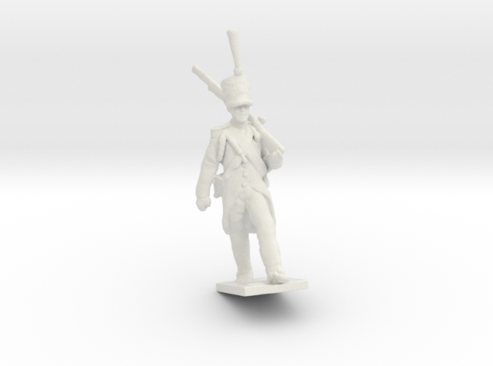 28 mm French Napoleonic soldier 1812 3d printed