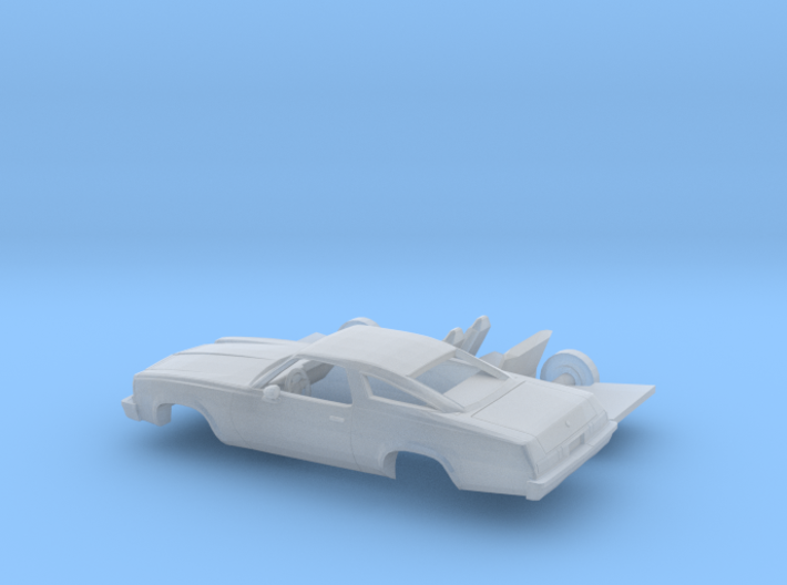 1/160 1975 Chevrolet Chevelle Coupe Kit 3d printed