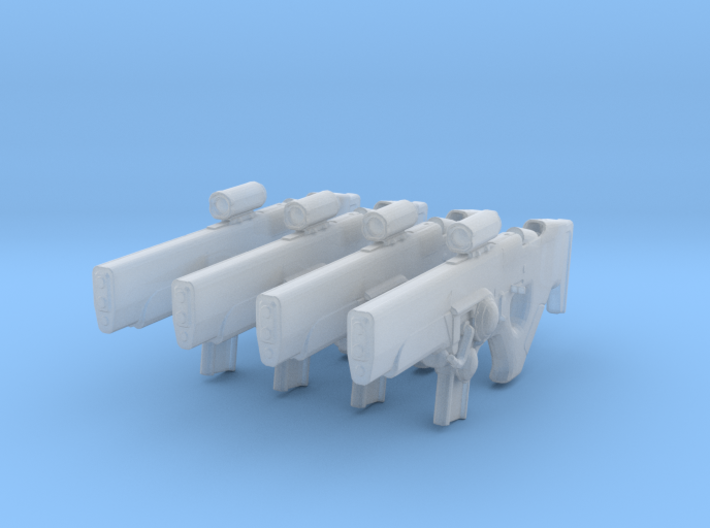 Hung Jury (1:18 Scale) 4 Pack 3d printed