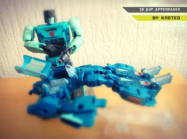 TR Kup Arm Upgrade Set C 3d printed Pointy finger handsculpt not included