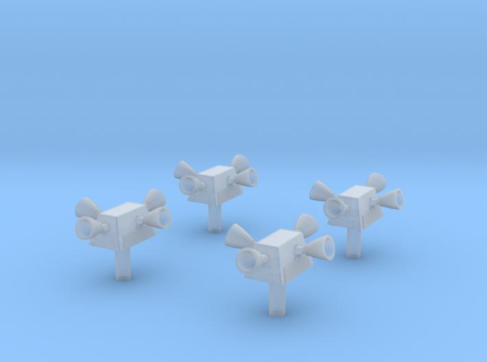 Apollo CSM RCS Quads 1:48 3d printed