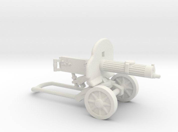 PM-1910 Maxim Machine Gun 3d printed