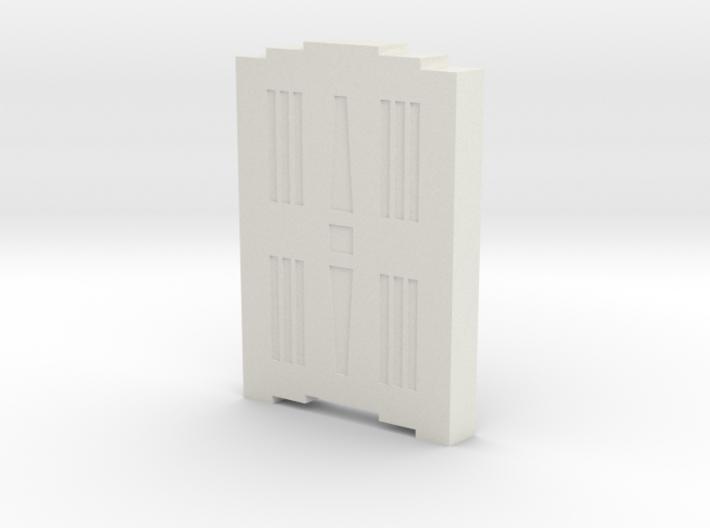 Triple Underpass Walkway Keystone 3d printed