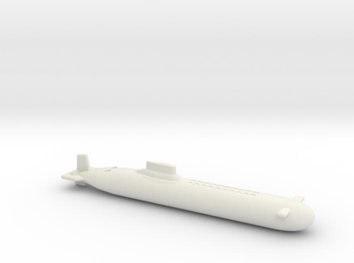 Proekt 941 Akula (Typhoon class) SSBN 3d printed