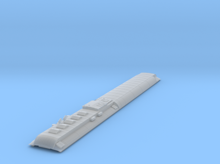 AT&SF Heavyweight Diner Roof (N-Scale) 3d printed