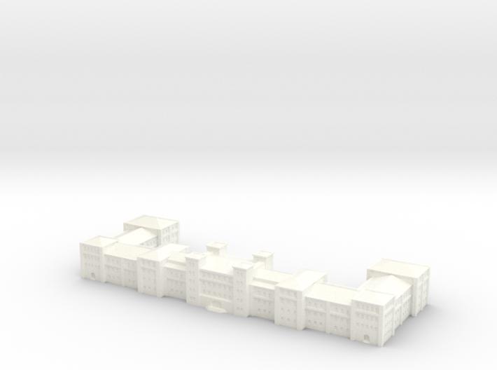 german Barracks 1/1250 scale (GW11) 3d printed