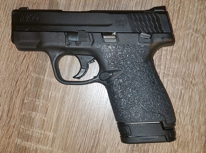 M&P Shield Grip Plug 3d printed Black