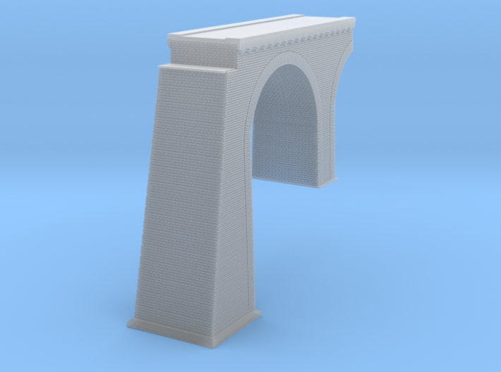 Chrzpsko Arched Truss Bridge Modified Z scale 3d printed Chrzpsko Arched bridge Z scale