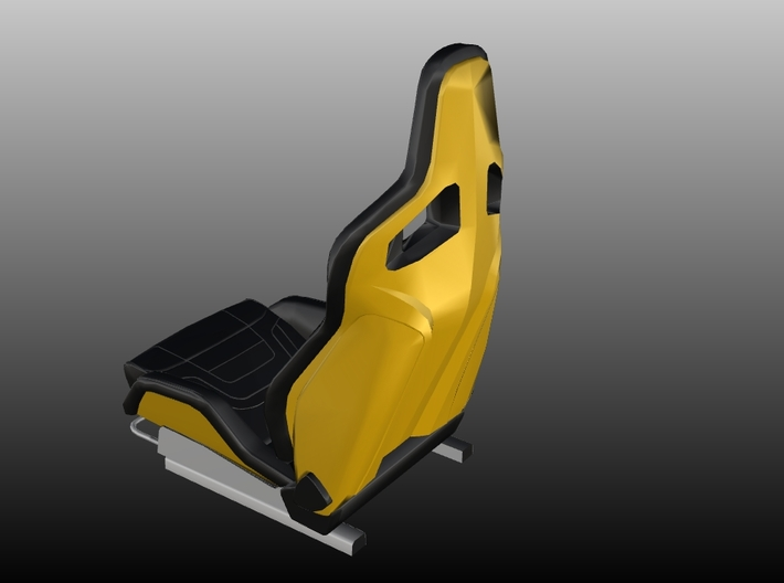 Race Seat RType-6 - 1/10 3d printed