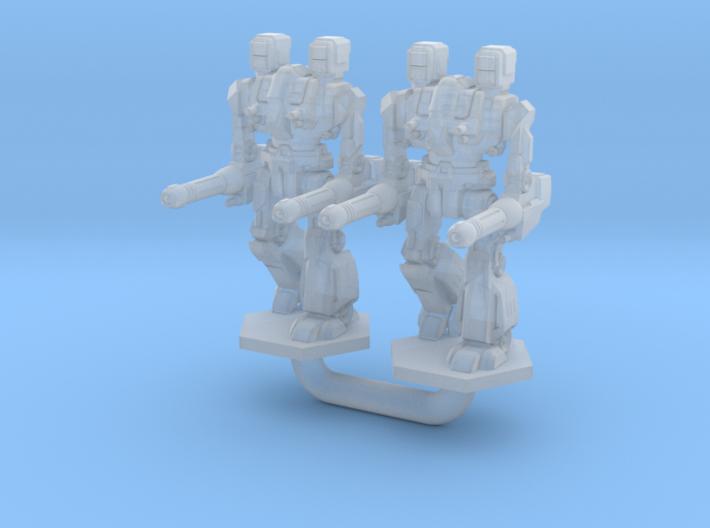 Maul Type Combat Walker 2X - 3mm 3d printed