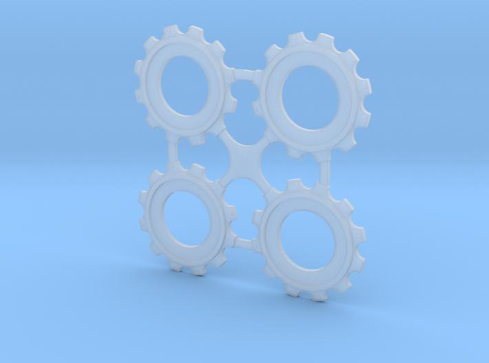 Rotor Hubs 3d printed