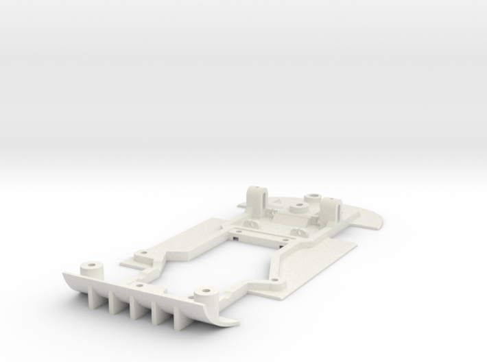 Chassis for NSR Mosler for (Slot.It motor pod) 3d printed