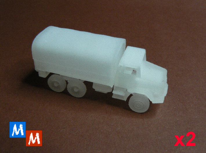 Renault GBC 180 Bachés - Pack x2 - 1:160 3d printed Frosted Detail